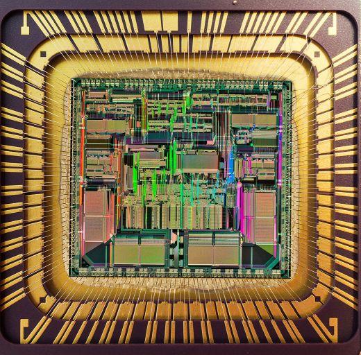 Motorola 68040-Die